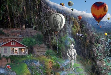1 master Gnomeland ballon w knight